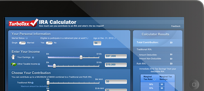 TurboTax Free Tax Calculators: TaxCaster, W4 Withholding, IRA, Life Events and Others