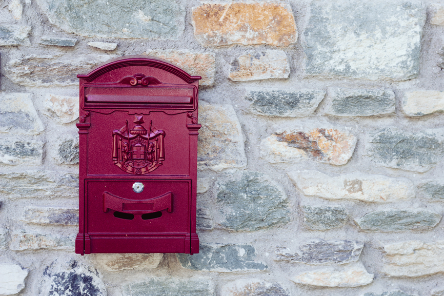 Locked mailbox