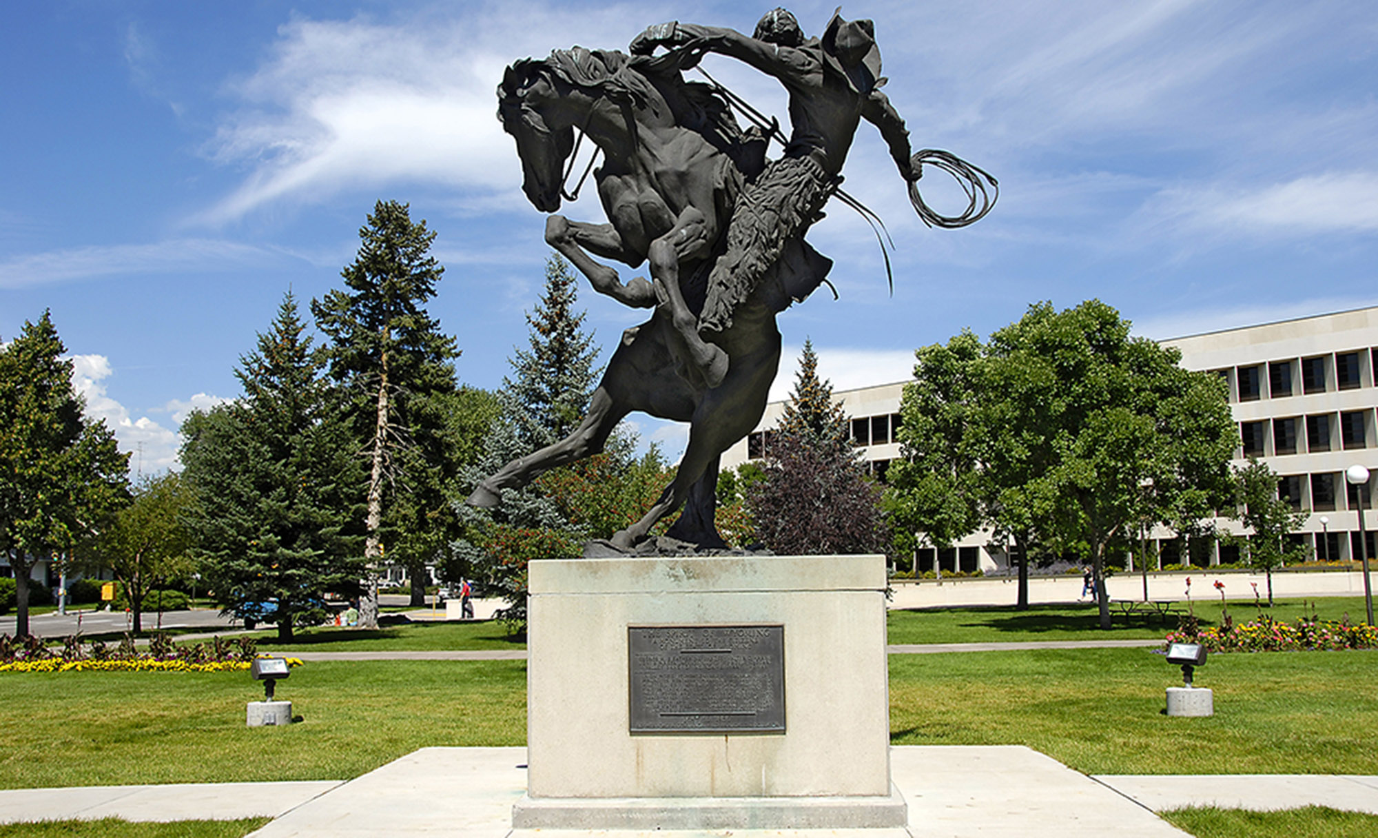 Spirit of Wyoming statue
