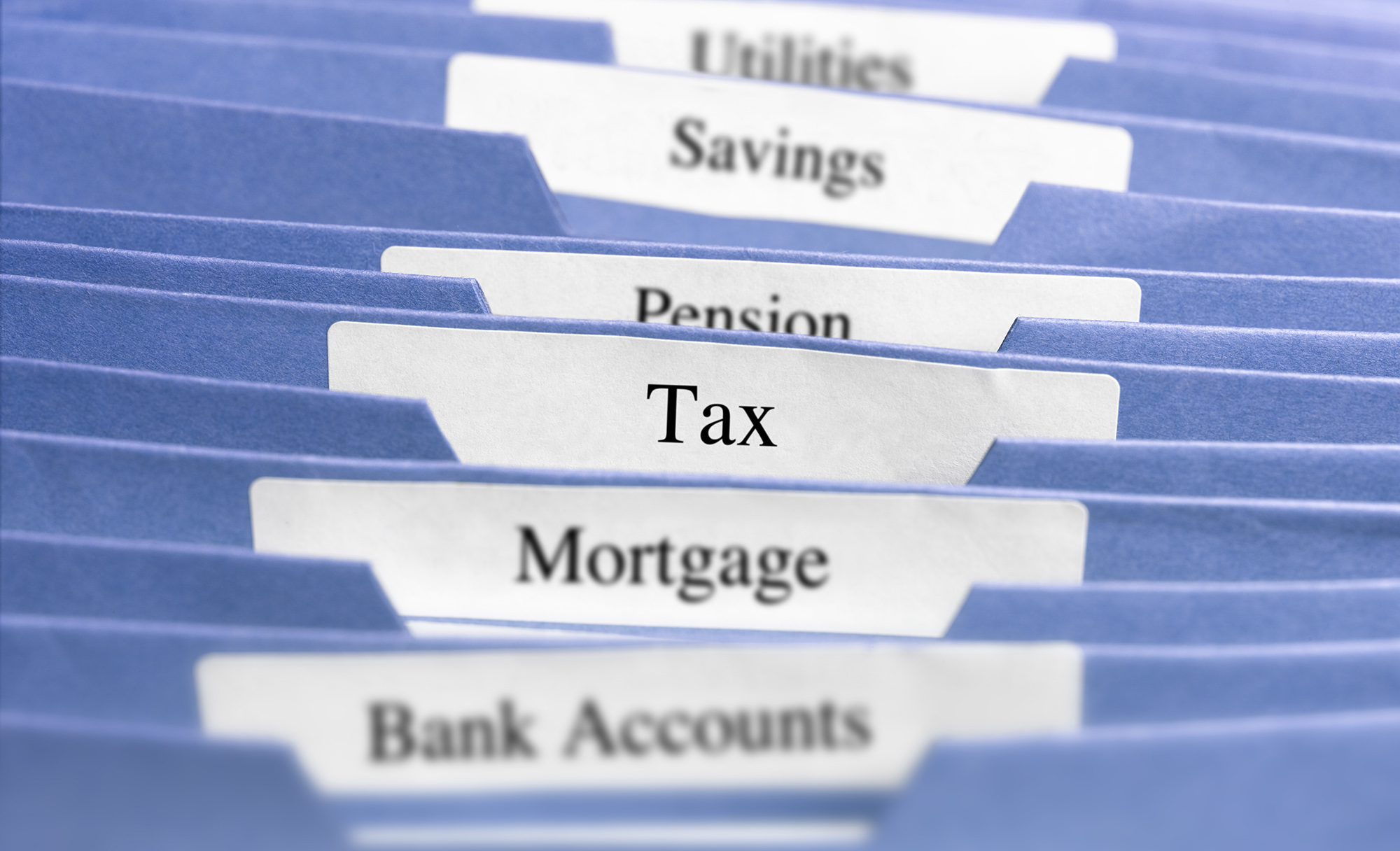 Tax file folders