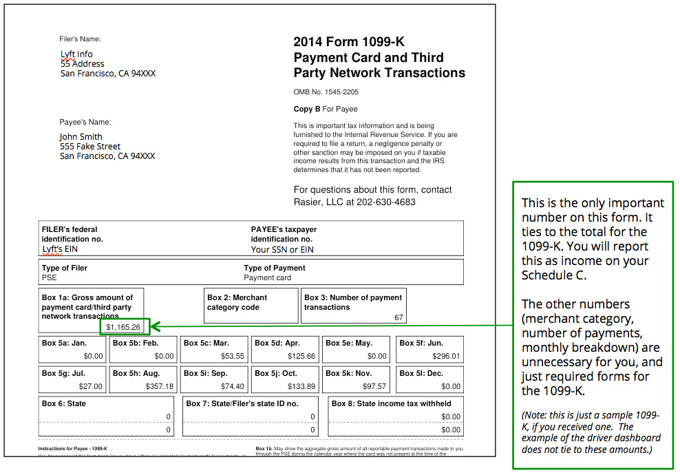 Options trades are not reported on form 1099
