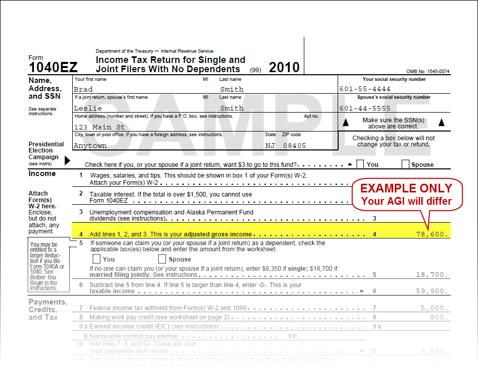 1040ez Tax Form Instructions 2016