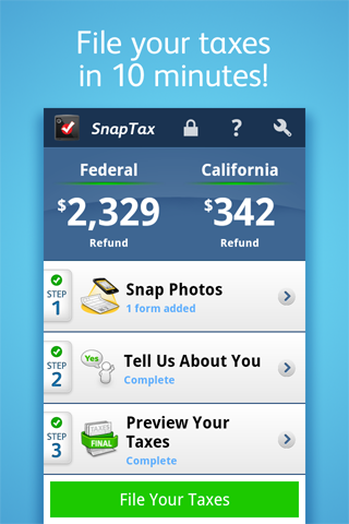 File your taxes in minutes